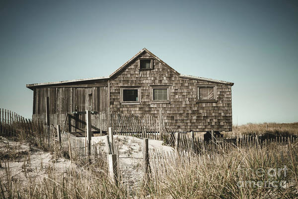 Wall Art - Photograph - The Shack At Island Beach by Colleen Kammerer