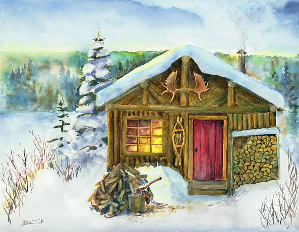 Painting - The Shack by Joe Baltich