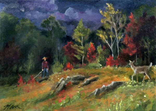 Painting - The Sighting by Nancy Griswold