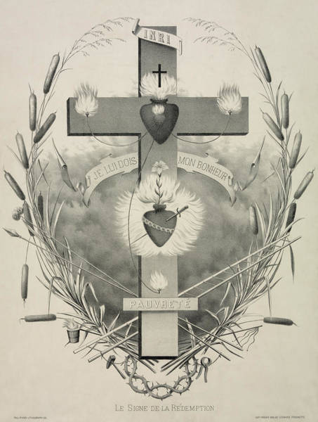 Wall Art - Painting - The Sign Of Redemption by Unknown
