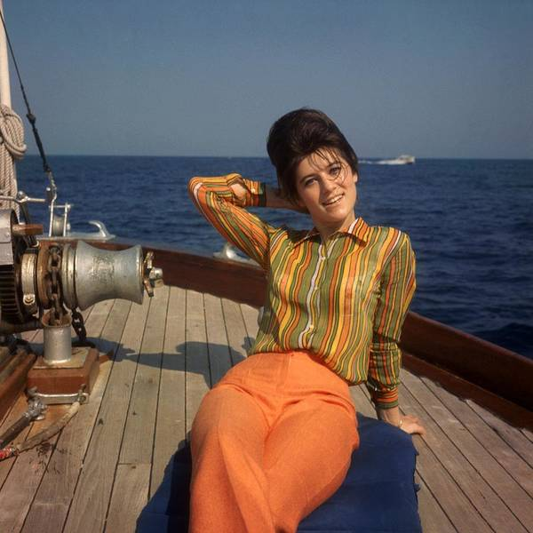 Nautical Photograph - The Singer Sheila On Vacation 1967 by Keystone-france