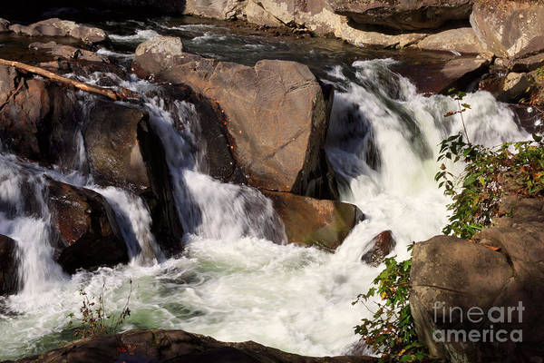 Wall Art - Photograph - The Sinks In Smoky Mountain National Park by Louise Heusinkveld