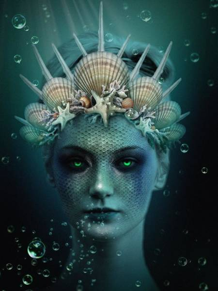 Digital Art - The Siren by Marianna Mills
