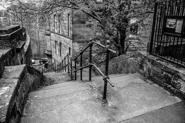Photograph - The Sixty Steps - Glasgow Scotland by Bill Cannon