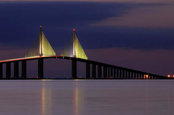 St. Petersburg Photograph - The Skyway by Aaa