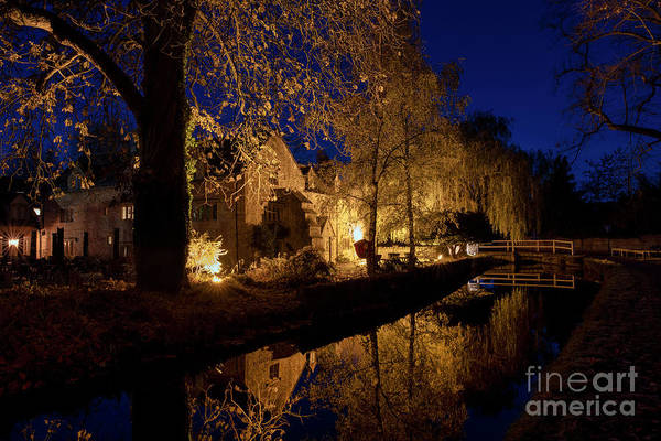 Wall Art - Photograph - The Slaughters Inn  by Tim Gainey