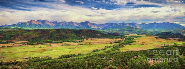 Fourteener Photograph - The Sneffels Range by Priscilla Burgers