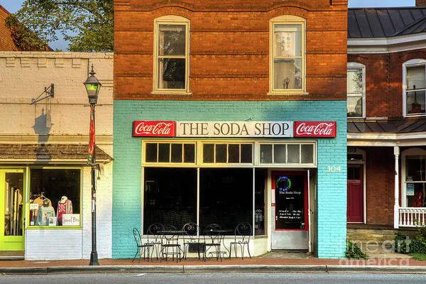 Wall Art - Photograph - The Soda Shop by Amy Dundon