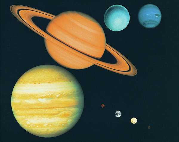 Wall Art - Photograph - The Solar System by Digital Vision.