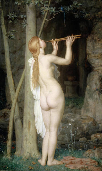 Gabriel Painting - The Sorceress, 1868 by Charles Gleyre