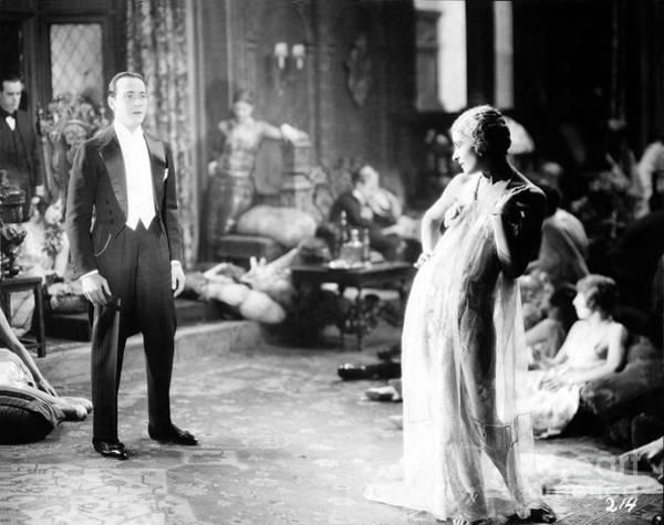 D W Griffith Photograph - The Sorrows Of Satan 1926 Ricardo Cortez Lya De Putti by Sad Hill - Bizarre Los Angeles Archive