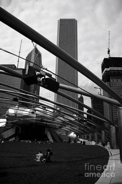 Photograph - The Sound Of Music Chicago - Monochrome by Frank J Casella