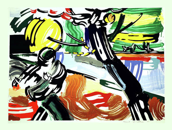 Photograph - The Sower - Signed  by Doc Braham - In Tribute to Roy Lichtenstein