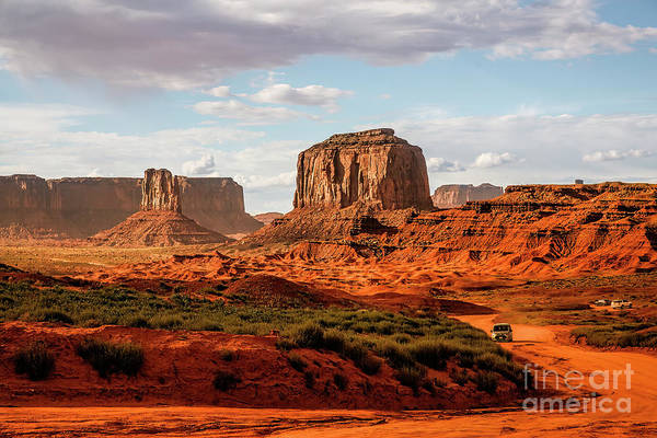 The Mitten Photograph - The Speedway, Monument Valley by Felix Lai