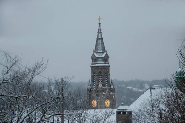 Wall Art - Photograph - The Spire Of St John The Baptist - Manayunk by Bill Cannon