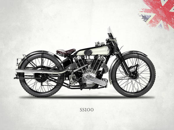Superior Photograph - The Ss 100 1925 by Mark Rogan