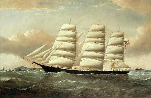 Wall Art - Painting - The St Charles Off Anglesey by William Howard Yorke