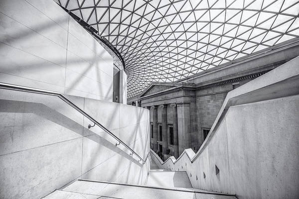 Trafalgar Photograph - The Staircase by Martin Newman