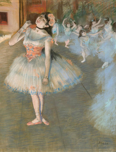 Wall Art - Pastel - The Star, 1879-1881 by Edgar Degas