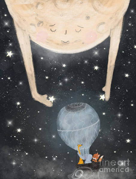 Wall Art - Painting - The Star Lullaby by Bri Buckley