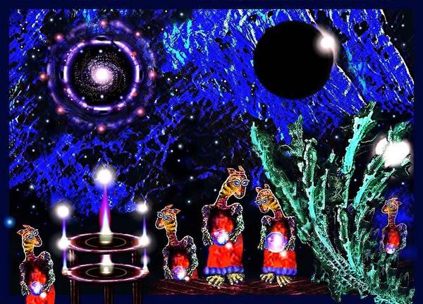 Digital Art - The  Stargate  Festival by Hartmut Jager