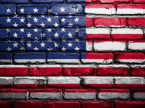 Wall Art - Painting - The Stars And Stripes by ArtMarketJapan