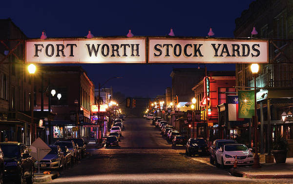 Photograph - The Stock Yards Sign 042319 by Rospotte Photography