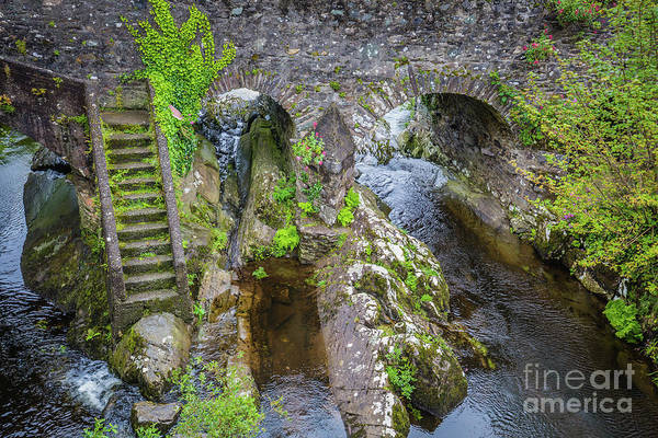 Wall Art - Photograph - The Stone Bridge In Sneem by Eva Lechner