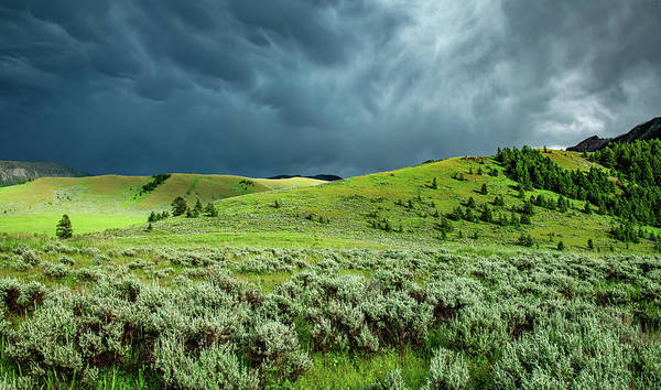 Wall Art - Photograph - The Storm Moves On Out by Marcy Wielfaert