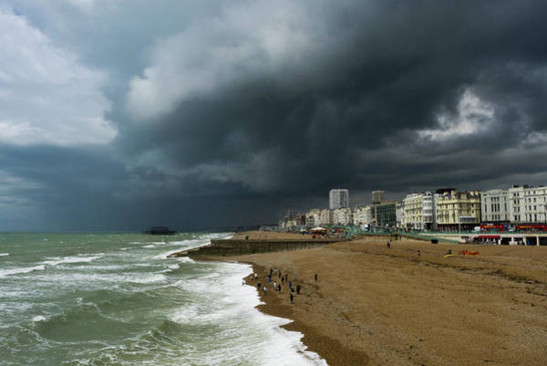 Palace Pier Wall Art - Photograph - The Storm by Picture By Neil Leighton