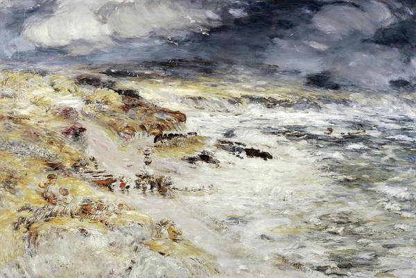 Wall Art - Painting - The Storm by William McTaggart