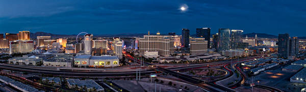 Photograph - The Strip - Night by Ryan Smith