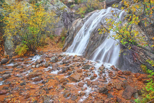 Helen Hunt Falls Photograph - The Stuggle You're In Today Is Developing The Strength You Need For Tomorrow. by Bijan Pirnia