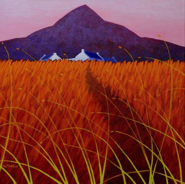 Wall Art - Painting - The Sugarloaf Co. Wicklow by John  Nolan