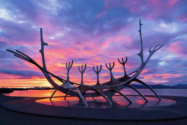 Photograph - The Sun Voyager by Michael Blanchette