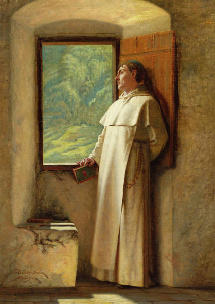 Wall Art - Painting - The Sunlight, 1890 by Ture Nikolaus Cederstrom