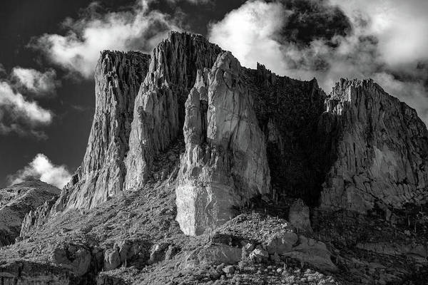 Superstition Mountains Photograph - The Superstition Mountains Southern Side by Robert Hayton