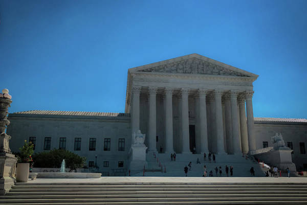 Photograph - The Supreme Court by Lora J Wilson