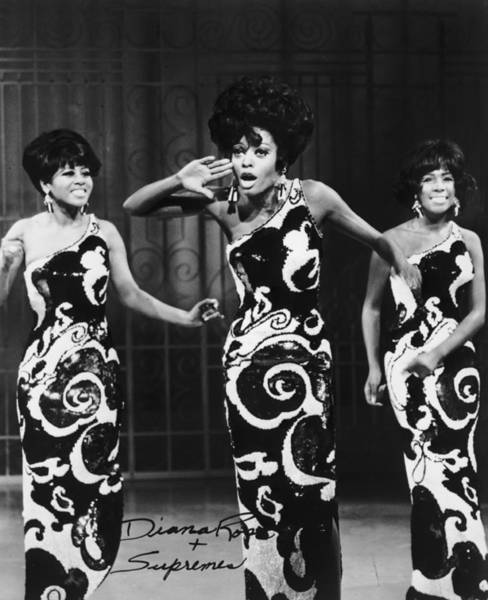Photograph - The Supremes by Archive Photos