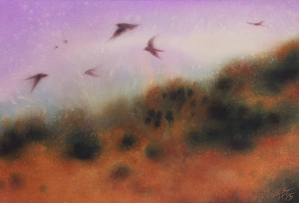 The Swallows Return  Art Print by Robin Street-Morris