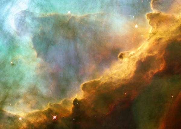 Wall Art - Digital Art - The Swan Nebula by Filip Hellman
