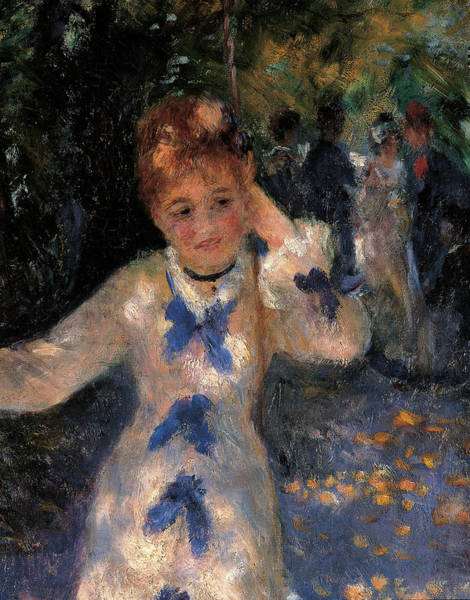 Painting - The Swing, By Pierre-auguste Renoir by Mondadori Portfolio