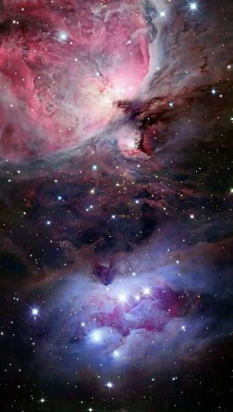 Satellite Image Wall Art - Photograph - The Sword Of Orion by Stocktrek Images
