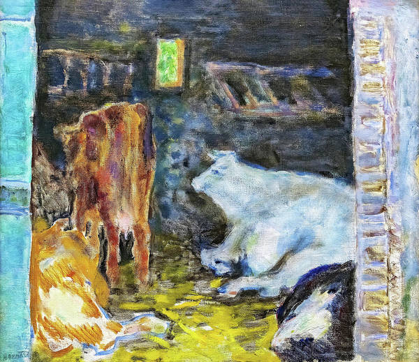 Wall Art - Painting - The Table - Digital Remastered Edition by Pierre Bonnard