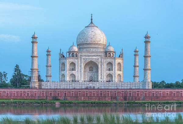 Wall Art - Photograph - The Taj Mahal In Agra, India by Travelographer 1