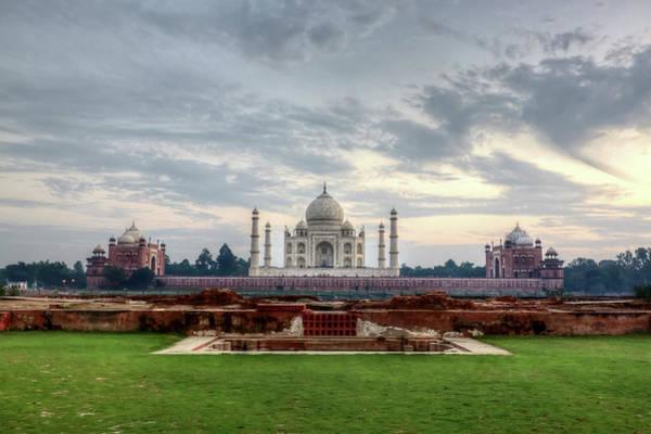 Photograph - The Taj Mahal Viewed From Methab Bagh by Emanuele Siracusa