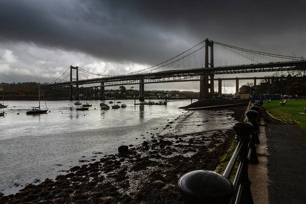 Photograph - The Tamar Bridge. by Maggie McCall
