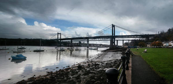 Photograph - The Tamar Bridge,saltash. by Maggie McCall