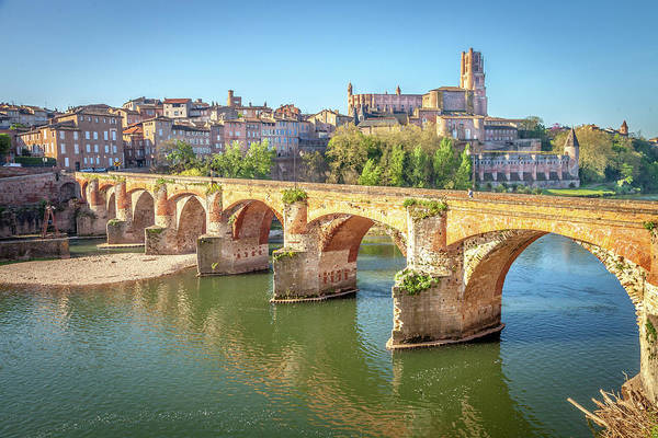 Wall Art - Photograph - The Tarn At Albi by W Chris Fooshee