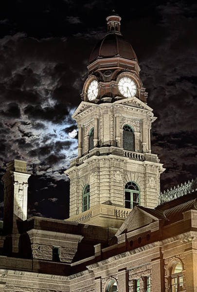Wall Art - Photograph - The Tarrant County Courthouse by JC Findley
